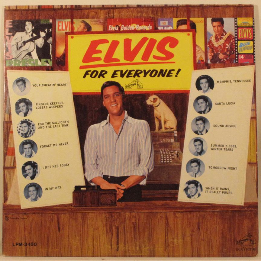 Resultado de imagem para Elvis Presley Elvis for everyone
